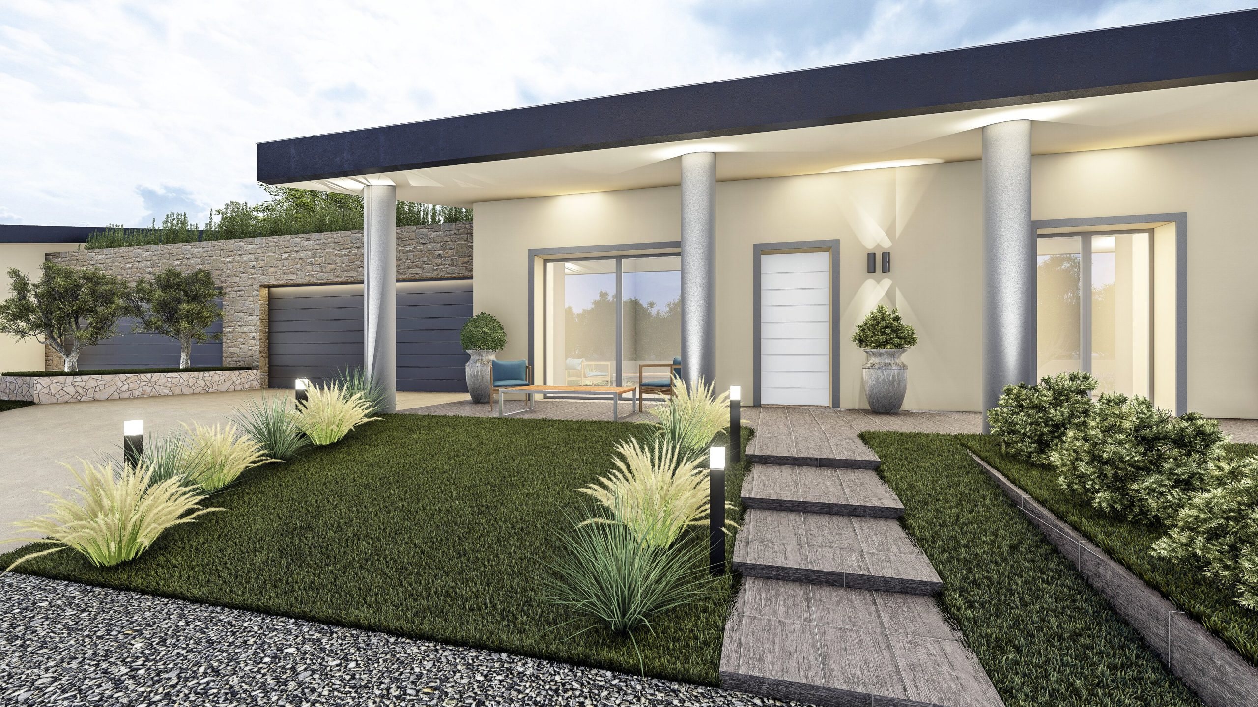 render 3d outdoor