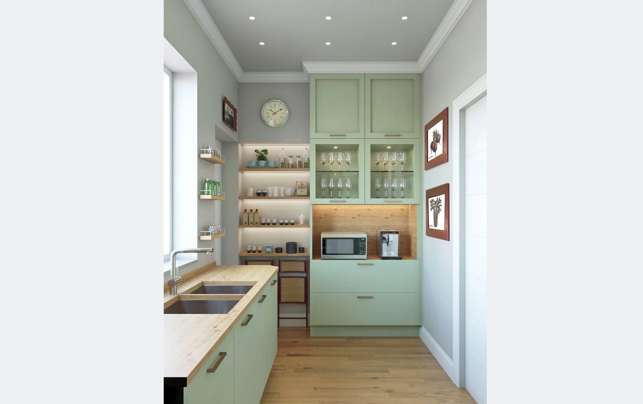 render 3d cucina