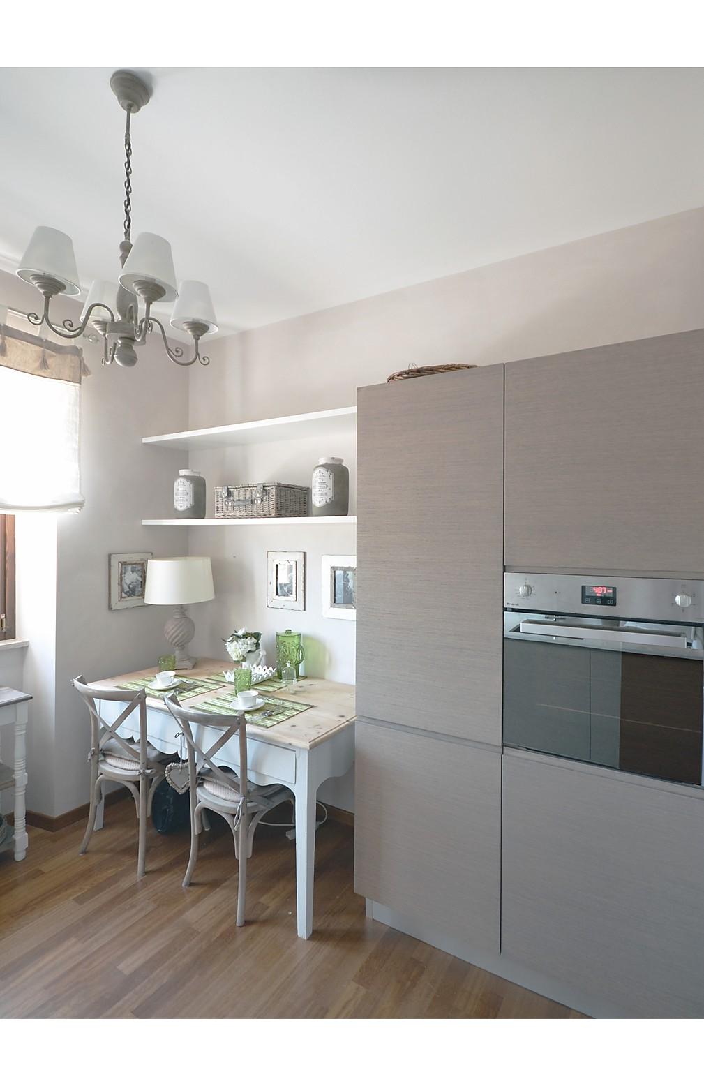 angolo cucina in legno